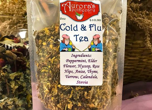 50pcs Cold & Flu Tea 2oz