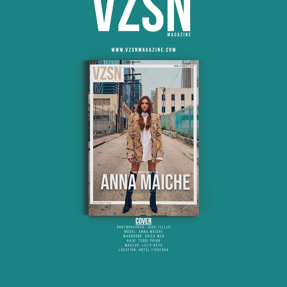 Anna Maiche VZSN Cover