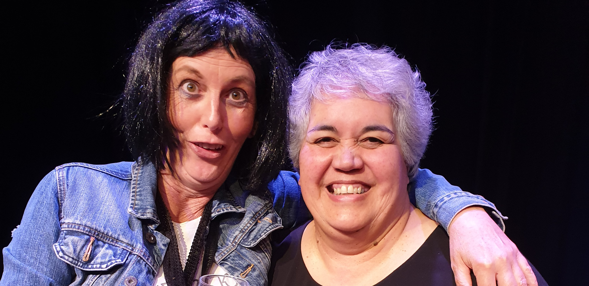 Doreen Van Dam and Lianne Karaitiana