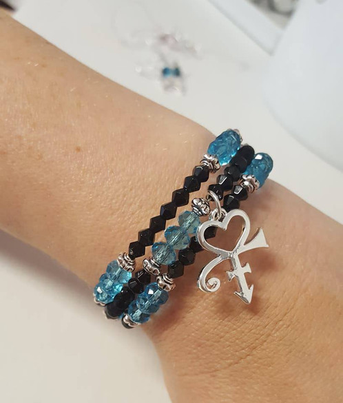 Dream Factory Bracelet With Prince Symbol Made To Your Order