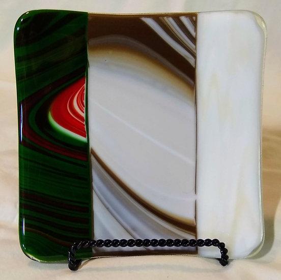 5 1/4 inch Square Plate