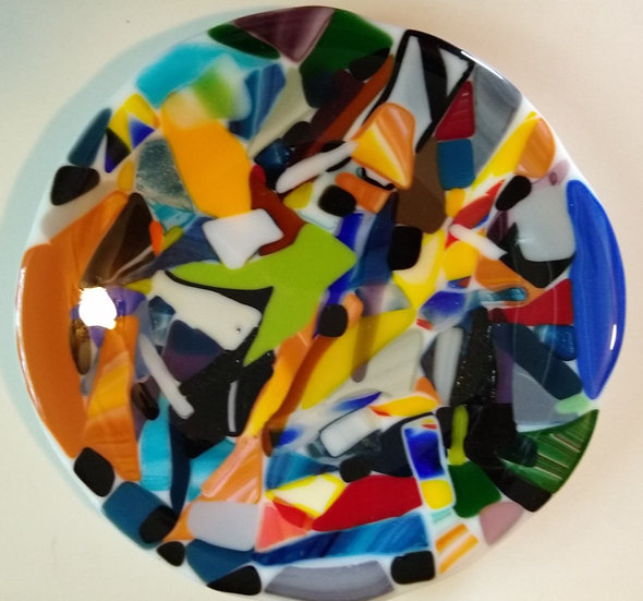 Round mosaic