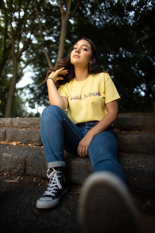 """Yellow """"Garden"""" T-Shirt"""