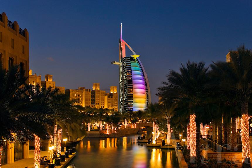 Magisk stemning i Dubai