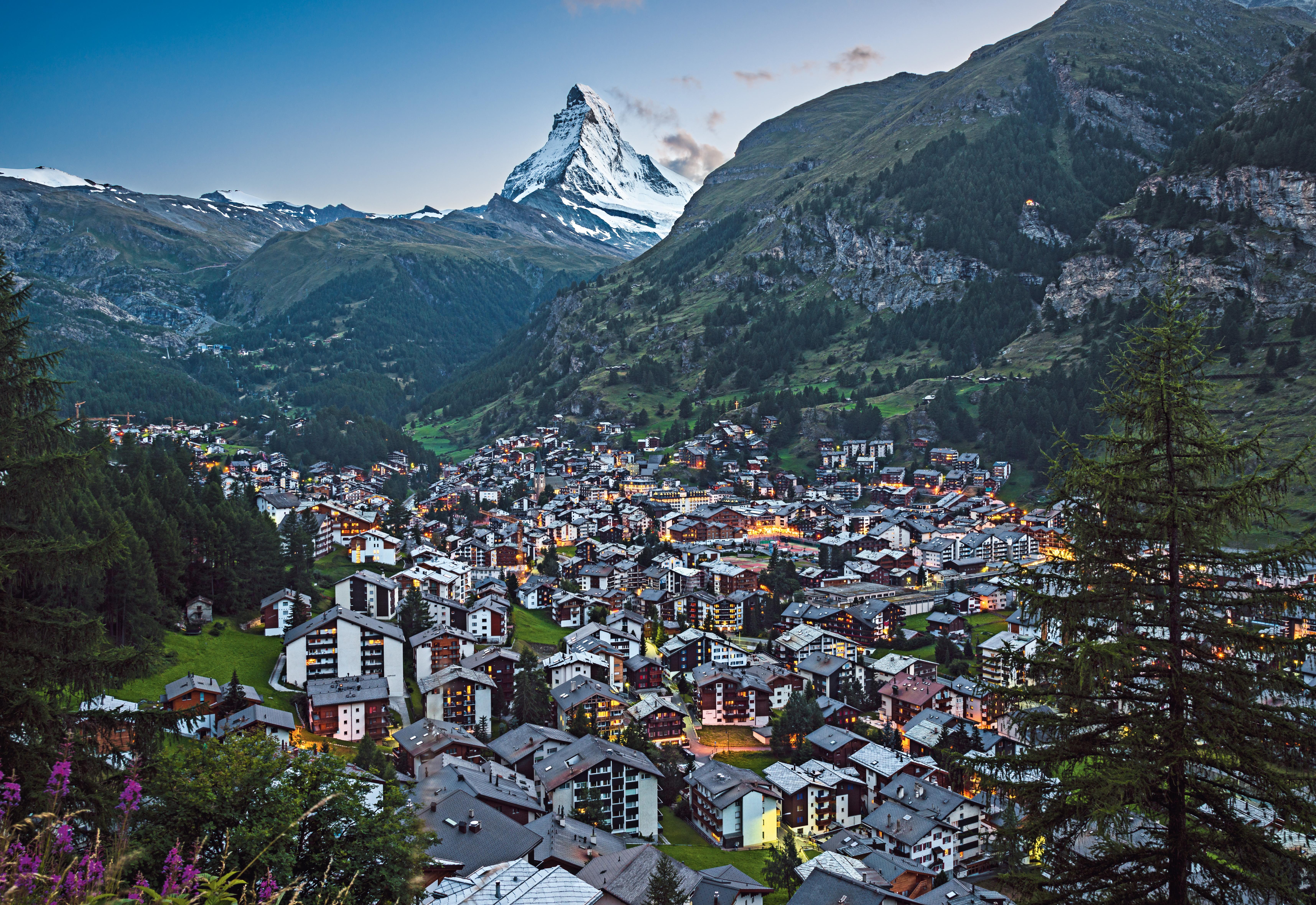 Tog Sveits Zermatt