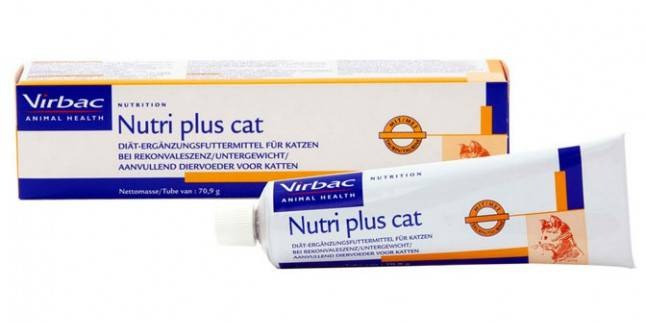 Virbac Nutri plus cat vitamiinipasta. Pildi allikas: https://www.petduka.com/nutri-plus-cat.html