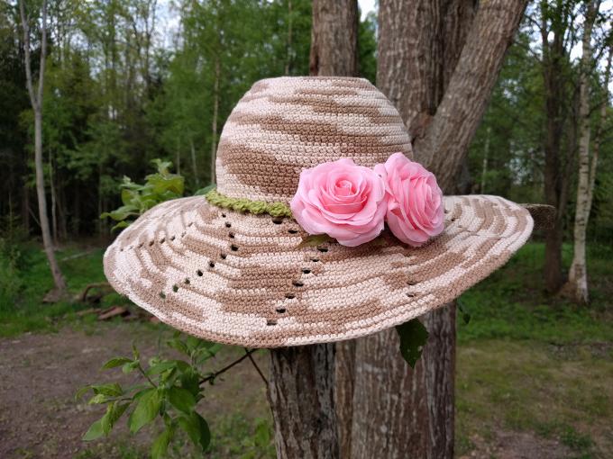 Heegeldatud aiakübar, valmis kasutamiseks!