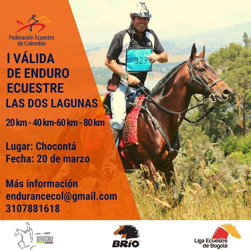I Válida Enduro Ecuestre - Las Dos Lagunas - Chocontá