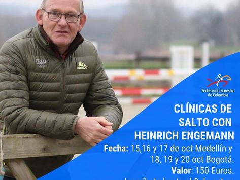 Clinicas de Salto con  Heinrich Engemann