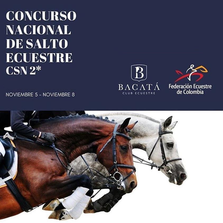 Concurso Nacional de Salto - CSN2*