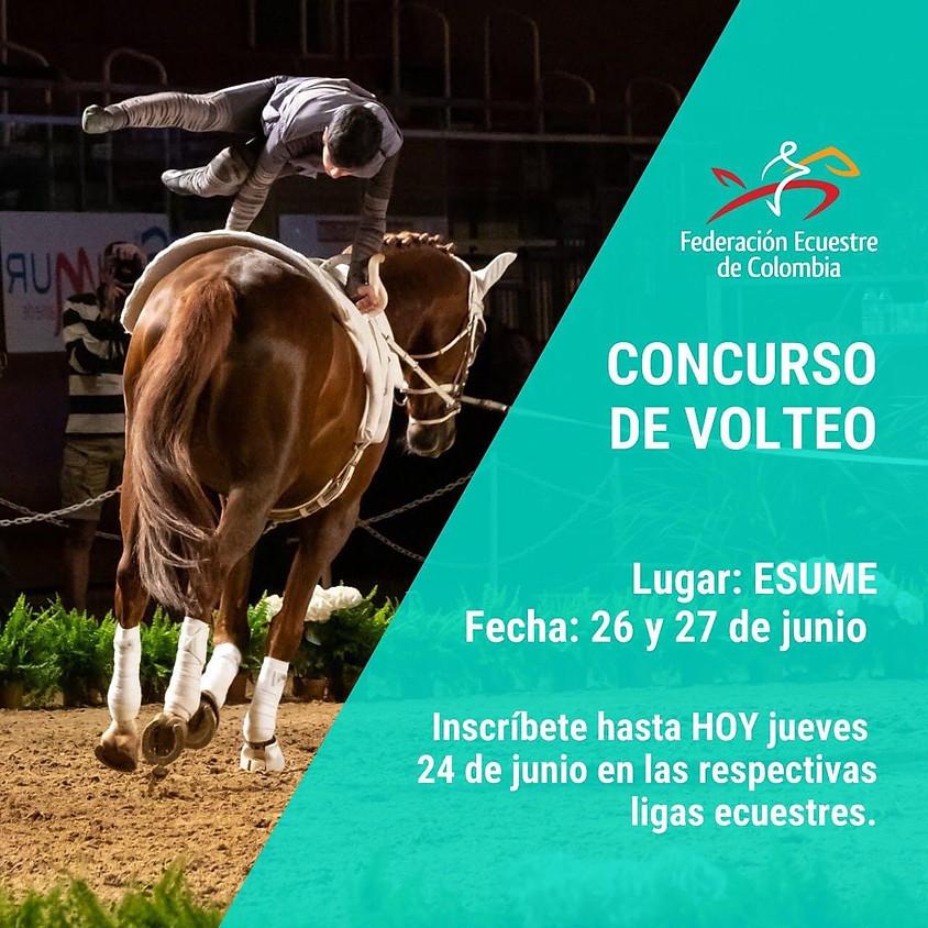 Concurso de Volteo - 26 y 27 de Junio - ESUME