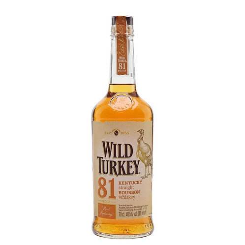 Wild Turkey - Kentucky straight Bourbon 40,5%vol.