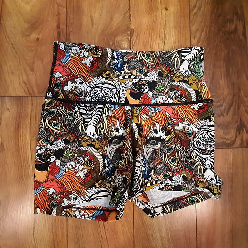 M dragon Tattoo Shorts