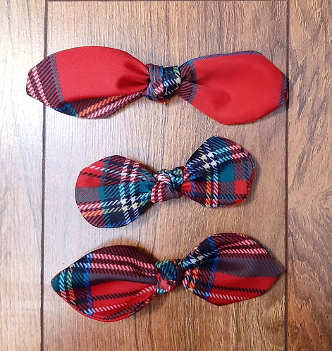 Mad for Plaid Hair Bows