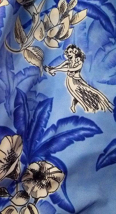 Hula Girls Blue