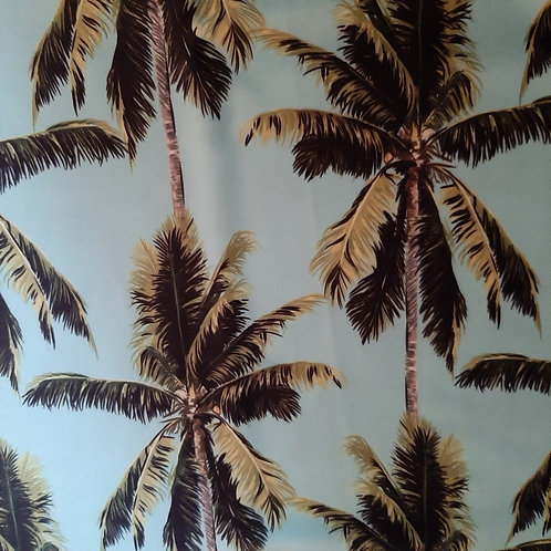 Palm Trees on Light Blue