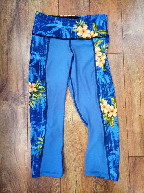 Blue Hawaiian 2 Tone Capri XS