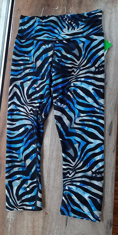 Blue Zebra Capri
