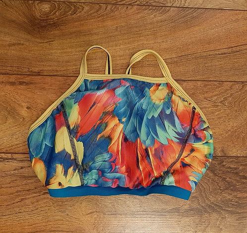 Tropical Feather Bralette