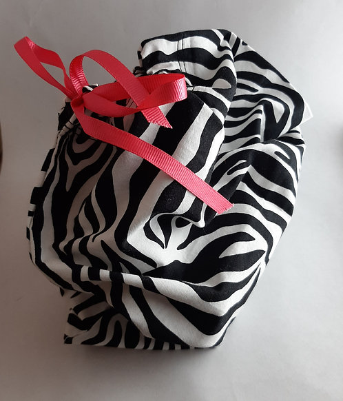 Black and White Zebra Gift Bag