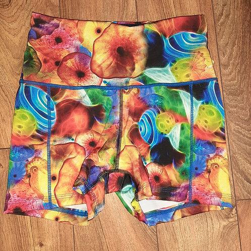 S Blown Glass Shorts