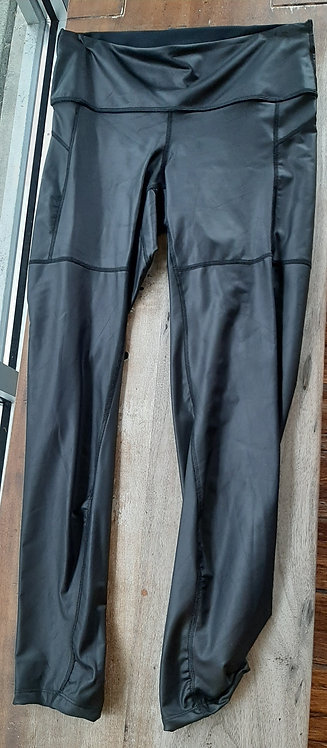Liquid Black Pleather Pant