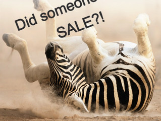 Did Someone Say Sale?!