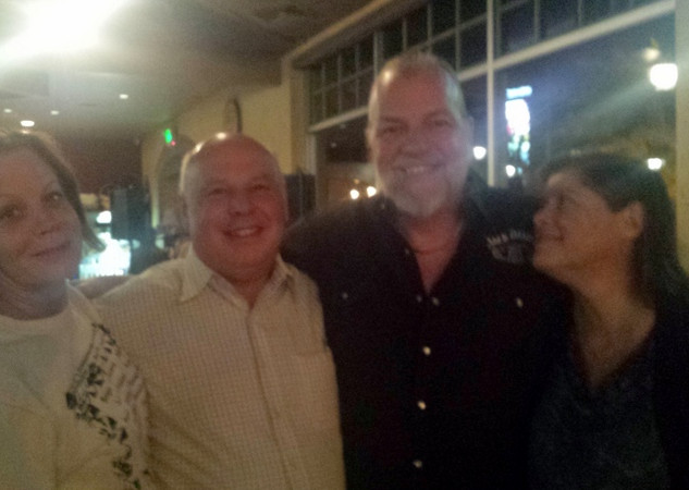 Jeff, Bev and Dale Poune