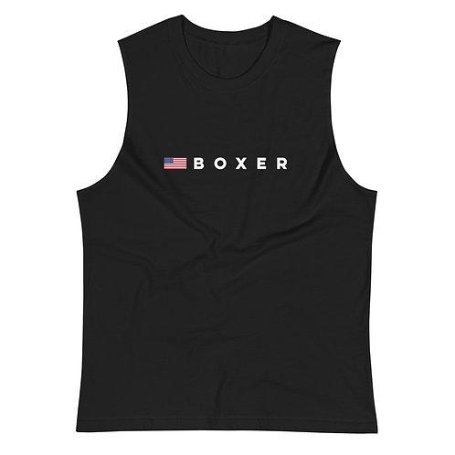 (USA) BOXER Muscle Shirt