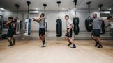 training @underground boxing gym