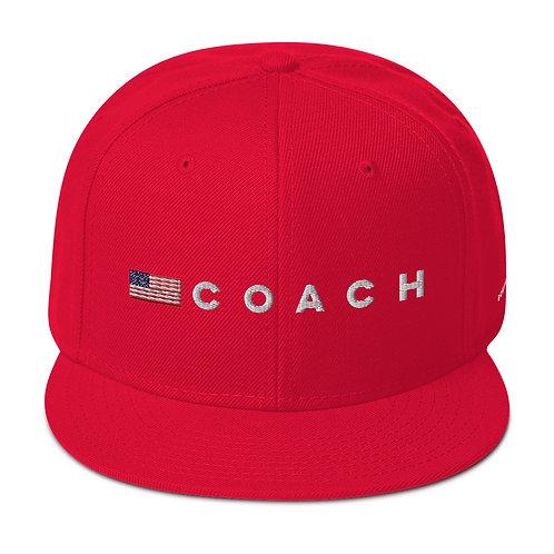 COACH USA flag Snapback Hat