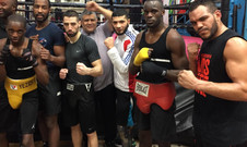 Church Street Boxing Gym Sparring