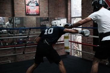 sparring @gym X.