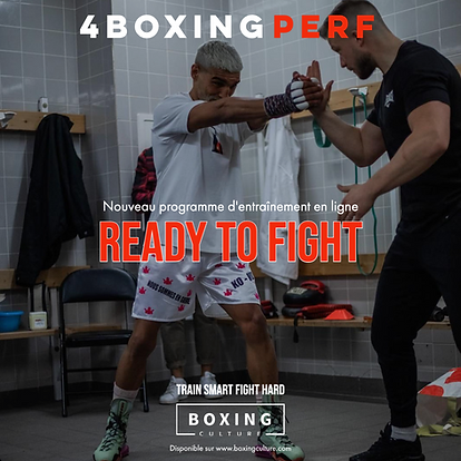 READY TO FIGHT Programme d'entraînement