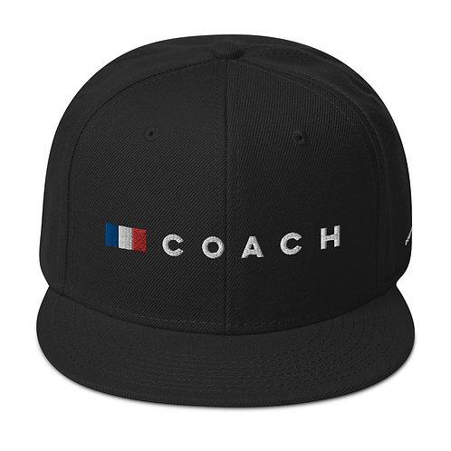 COACH FRANCE flag Snapback Hat