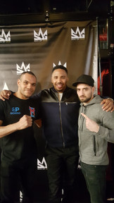 With the GOAT Andre Ward