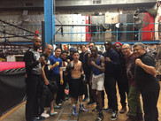 Sparring @Church Street Boxing Gym