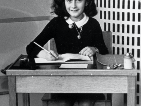 Quote and Person of the day- Anne Frank