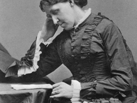 Quote and Person of the day- Louisa May Alcott