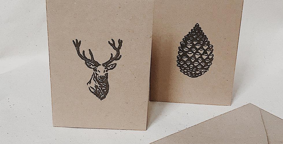 festive gift card
