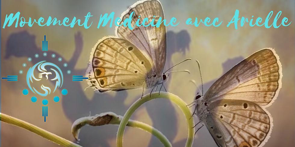 Movement Medicine avec Arielle en ligne