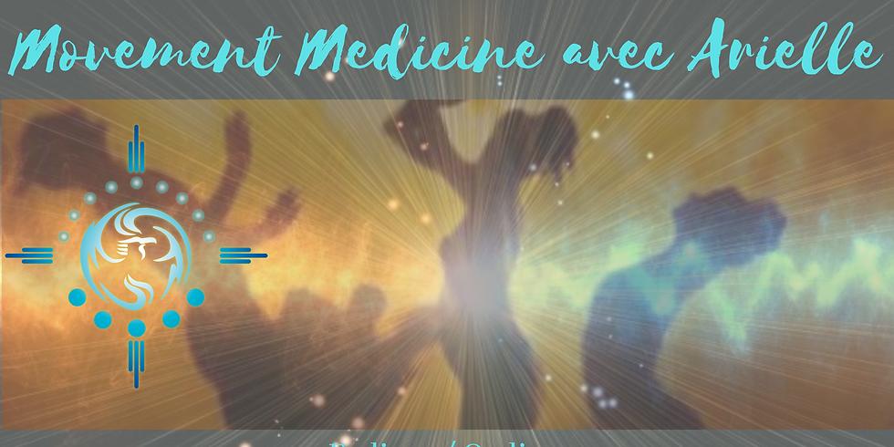 Movement Medicine En Ligne avec Arielle