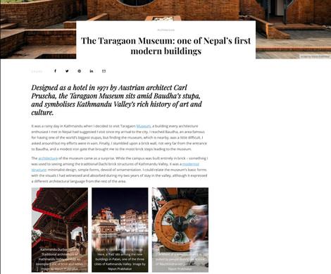 Taragaon Museum, Nepal- Round City Magazine