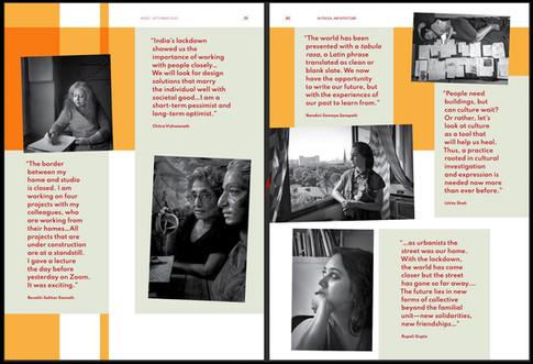 Virtual photostory on women architects of India