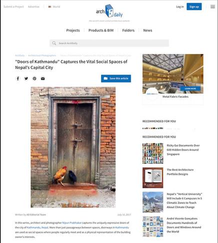 Doors of Kathmandu-ArchDaily