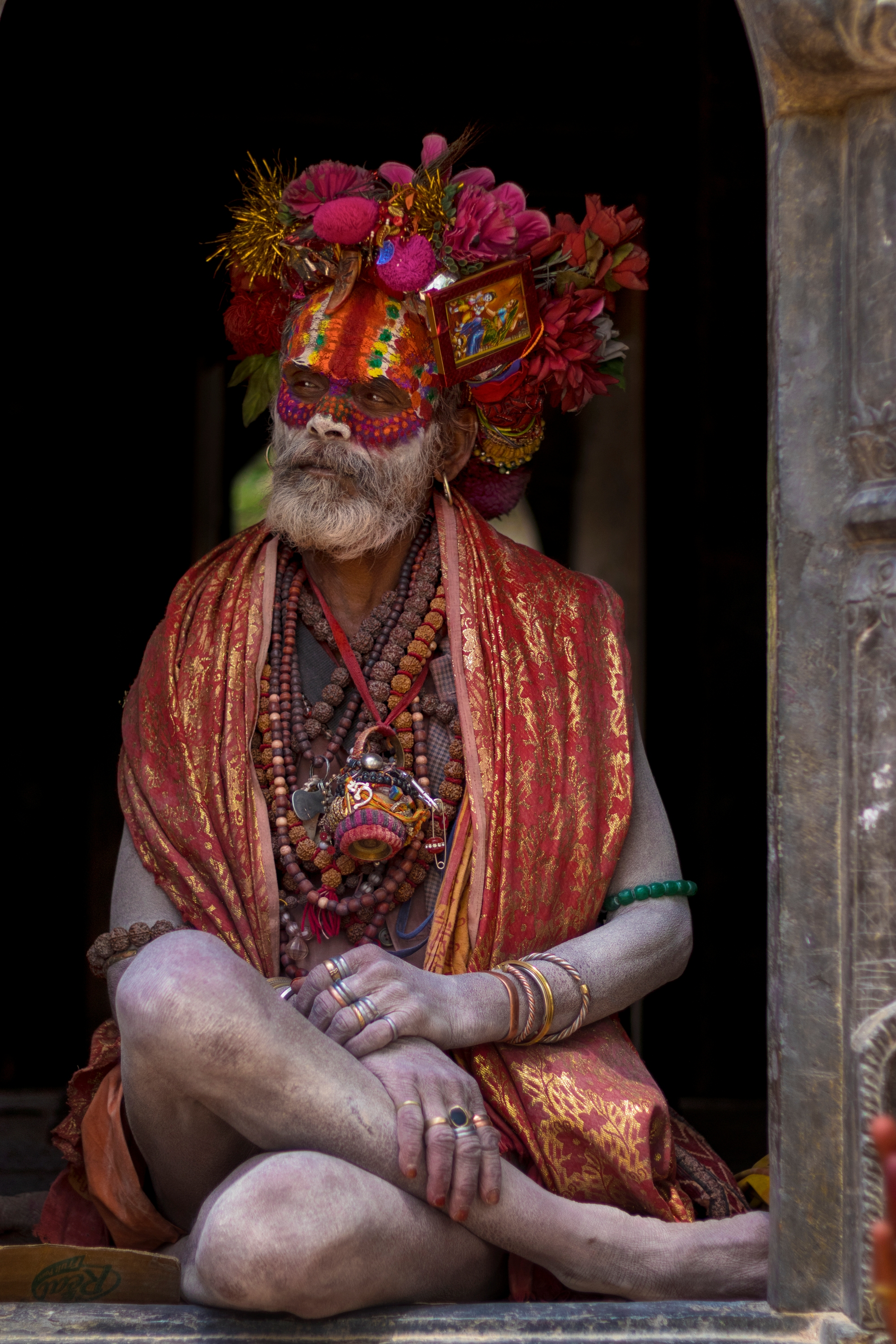 Met him at Pashupatinath