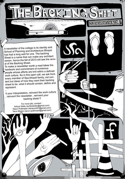 Poster for Backing sheet