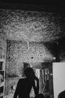 Flat brick dome
