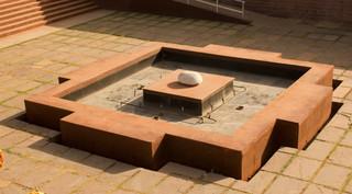 Mandala water fountain