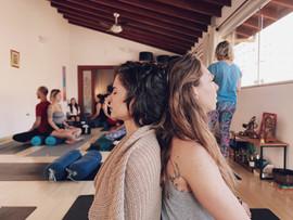 Meditação especial com a professora Rosana